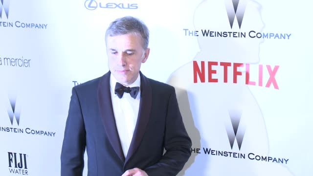 Christoph Waltz at the 2015 Weinstein Company And Netflix Golden Globe After Party at Robinsons May Lot on January 11 2015 in Beverly Hills California