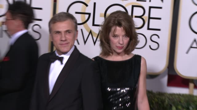 Christoph Waltz at the 72nd Annual Golden Globe Awards Arrivals at The Beverly Hilton Hotel on January 11 2015 in Beverly Hills California