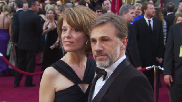 vidéos et rushes de christoph waltz at the 82nd annual academy awards - arrivals at hollywood ca. - academy awards