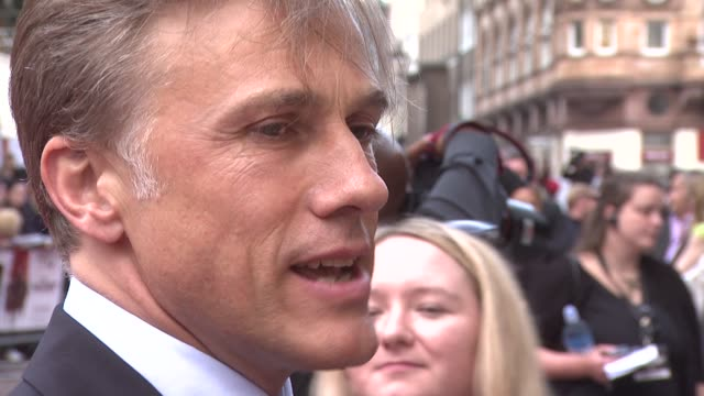 Christoph Waltz at the Inglourious Basterds UK Premiere at London England