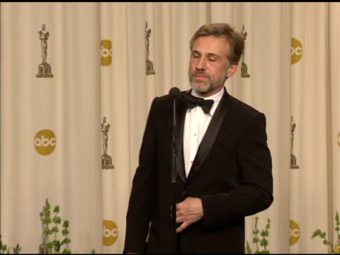 Christoph Waltz on being hired for the film at the 82nd Annual Academy Awards Press Room at Hollywood CA