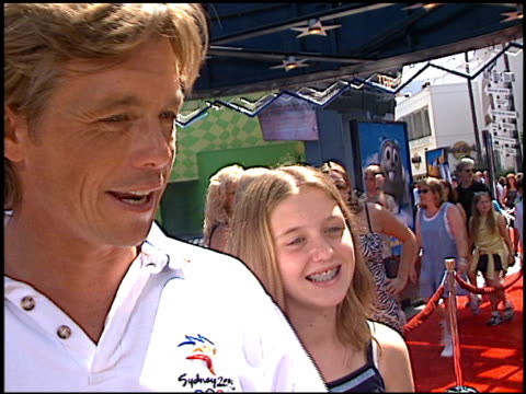 christopher atkins at the premiere of 'the adventures of rocky and bullwinkle' at universal in universal city california on june 24 2000 - the adventures of rocky and bullwinkle 2000 film stock videos & royalty-free footage