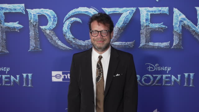 "christopher beck at the ""frozen ii"" world premiere at dolby theatre on november 07, 2019 in hollywood, california. - 首映 個影片檔及 b 捲影像"