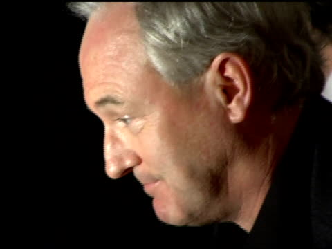 stockvideo's en b-roll-footage met christopher buckley author of the novel 'thank you for smoking' at the 'thank you for smoking' new york premiere at the museum of modern art in new... - auteur