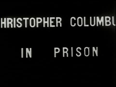 christopher columbus - 12 of 14 - christoph kolumbus stock-videos und b-roll-filmmaterial