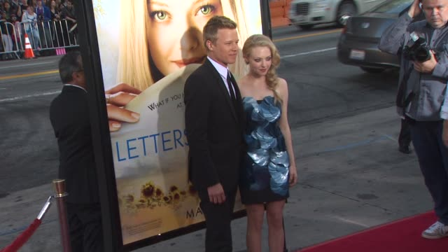 Christopher Egan Amanda Seyfried at the 'Letters To Juliet' Premiere at Hollywood CA