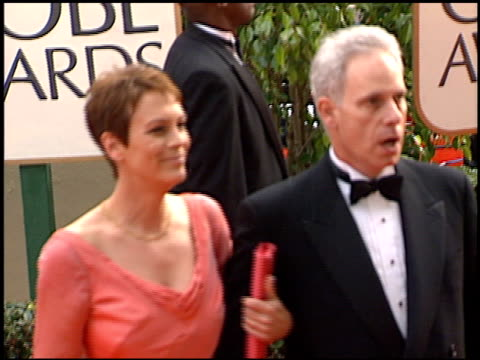 christopher guest at the 2001 golden globe awards at the beverly hilton in beverly hills, california on january 21, 2001. - golden globe awards stock videos & royalty-free footage