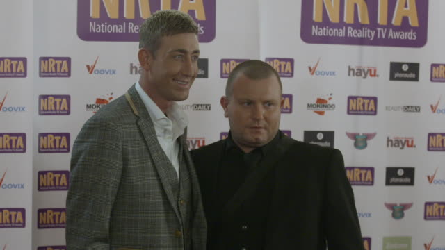 christopher maloney national reality tv awards on september 29 2016 in london england - reality tv stock videos and b-roll footage