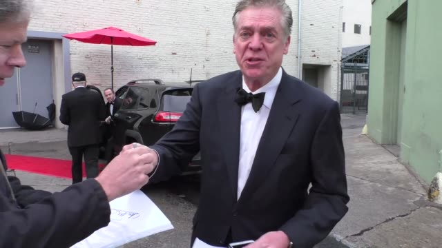 christopher mcdonald outside oscar viewing party at hollywood museum in hollywood in celebrity sightings in los angeles - oscar party stock videos & royalty-free footage