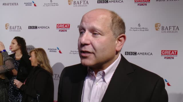 interview christopher meledandri on being at the event and on why animated films keep getting better at the bafta los angeles awards season tea party... - tea party stock videos and b-roll footage