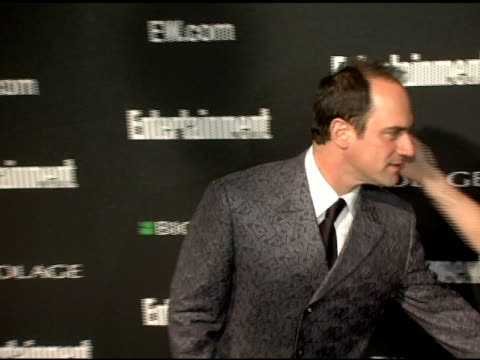 stockvideo's en b-roll-footage met christopher meloni at the entertainment weekly's viewing party for 2006 academy awards at elaine's in new york, new york on march 5, 2006. - entertainment weekly
