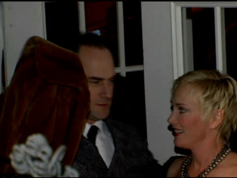 stockvideo's en b-roll-footage met christopher meloni, sherman williams and richard belzer and guest at the entertainment weekly's viewing party for 2006 academy awards at elaine's in... - entertainment weekly