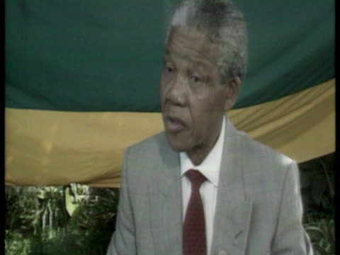 christopher morris interviews nelson mandela sky news nelson mandela footage on february 16, 1990 in johannesburg, south africa - 1990 stock videos & royalty-free footage