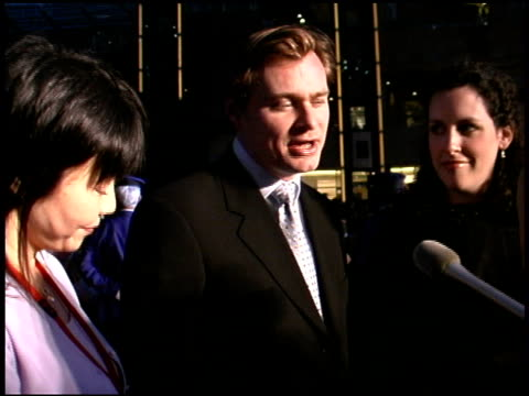christopher nolan at the 'batman begins' press conference and premiere at roppongi hills in tokyo on may 31 2005 - roppongi hills stock videos and b-roll footage