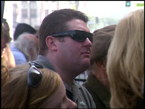 christopher penn at the dediction of randy quaid's walk of fame star at the hollywood walk of fame in hollywood, california on october 7, 2003. - randy quaid stock videos & royalty-free footage