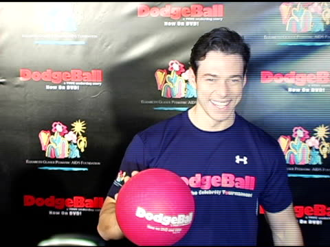 Christopher Showerman at the Dodgebal The Celebrity Tournament at Hollywood Palladium in Hollywood California on December 8 2004