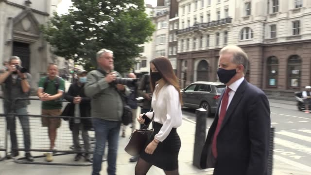 christopher steele a former british spy who wrote a 2016 dossier about alleged links between donald trump and vladimir putin arrives at the high... - former stock videos & royalty-free footage