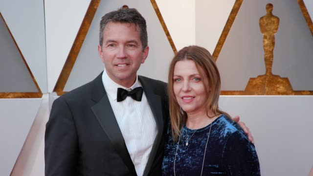 Christopher Townsend and Simone Townsend at the 90th Academy Awards Arrivals at Dolby Theatre on March 04 2018 in Hollywood California