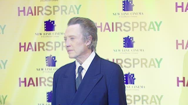 vídeos y material grabado en eventos de stock de christopher walken at the 2007 showest at the paris hotel in las vegas nevada on march 14 2007 - paris las vegas