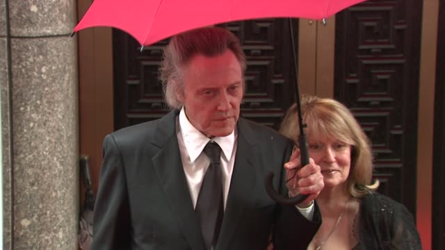 Christopher Walken at the 64th Annual Tony Awards at New York NY