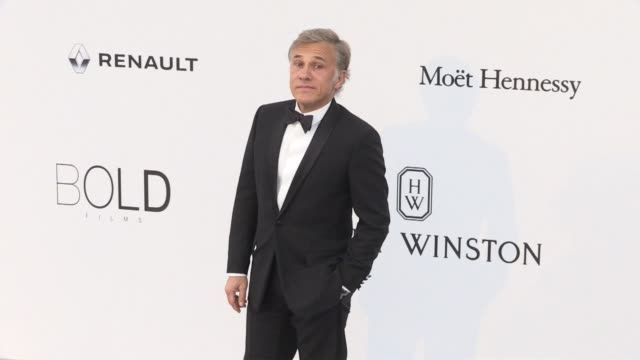 Christopher Waltz at on the red carpet at the amfAR Gala during the Cannes Film Festival 2017 Thursday 25 May 2017 Cannes France