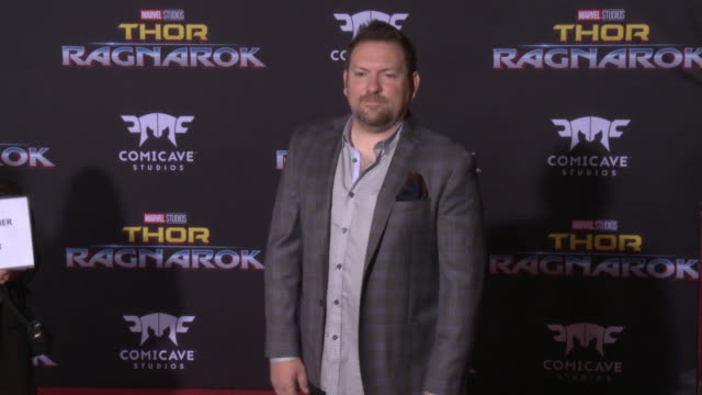 christopher yost at the thor ragnarok premiere at the el capitan theatre on october 10 2017 in hollywood california - thor: ragnarok stock videos & royalty-free footage