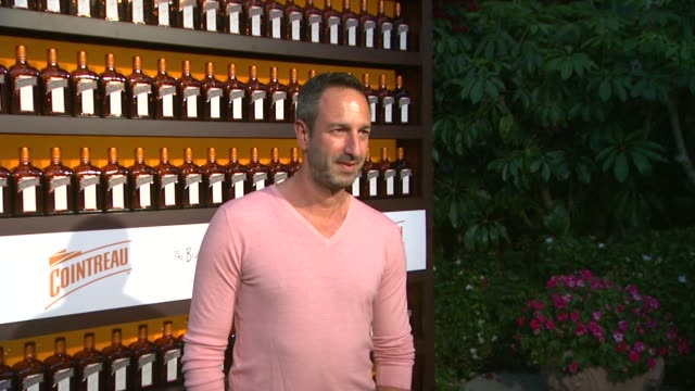 christos garkinos at cointreau and dita von teese launch cointreau poolside soirees in celebration of the beverly hills hotel's 100th anniversary in... - beverly hills hotel stock videos and b-roll footage