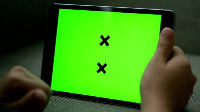 Chroma Key Digital Tablet