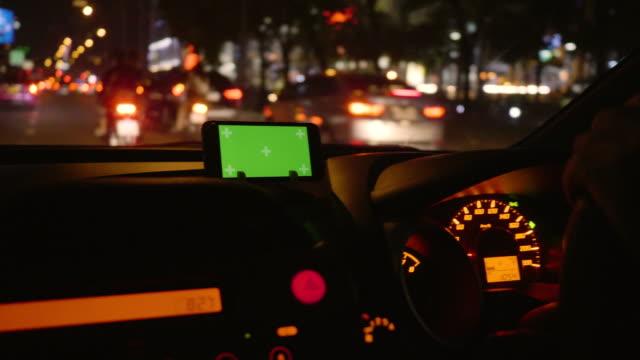 Chroma Key / Driving : Navigational Equipment , Retail Display