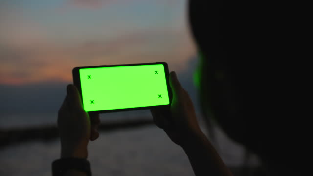 chroma key green screen at dusk - low lighting stock videos & royalty-free footage