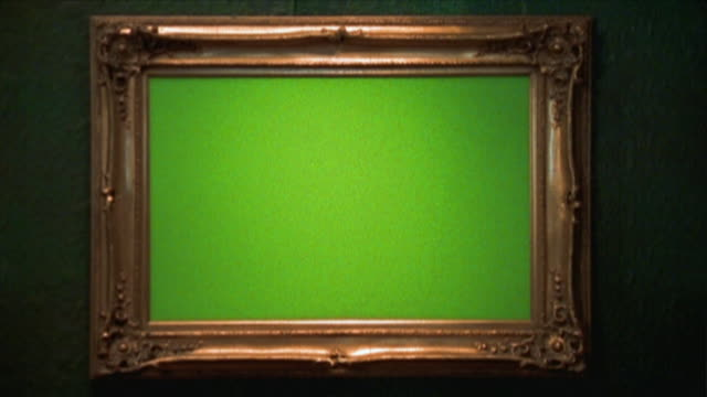 ms chroma key screen in frame, new york city, new york state, usa - picture frame stock videos & royalty-free footage