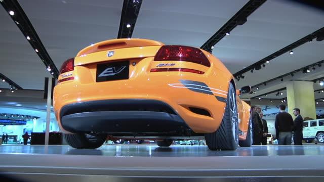CU ZO MS Chrysler electric vehicle Circuit on display at Detroit Auto Show, Detroit, Michigan, USA