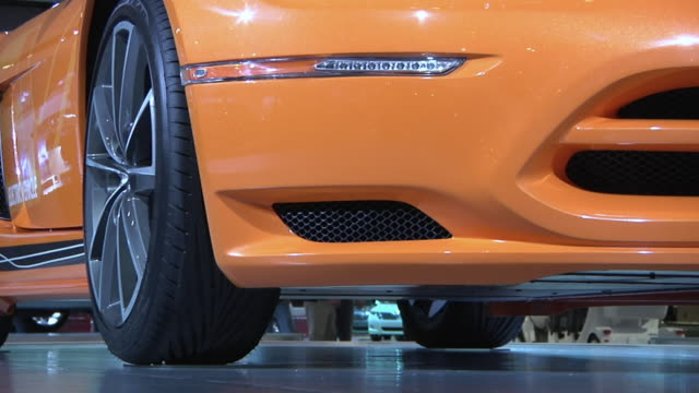 CU PAN Chrysler electric vehicle on display at Detroit Auto Show, Detroit, Michigan, USA