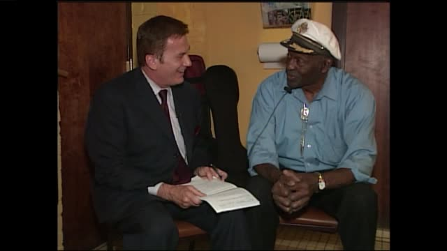 ktvi chuck berry on his musical beginnings with louis jordan as well as being known as the father of rock and roll in an interview with ktvifox 2... - blues stock videos & royalty-free footage