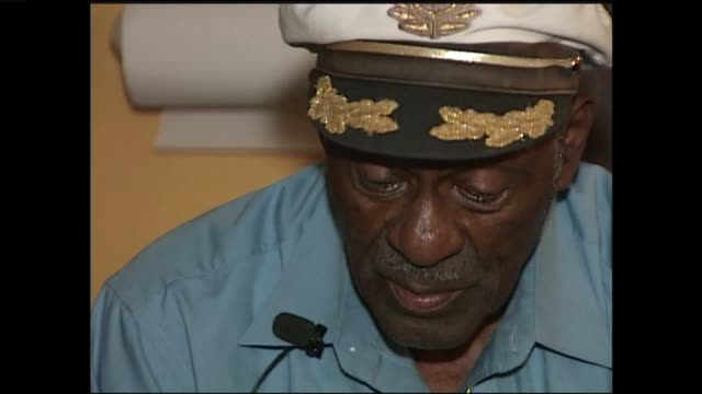 ktvi chuck berry talks about his musical influences in an interview with ktvifox 2 news reporter dan gray on oct 17 2007 - blues stock videos & royalty-free footage