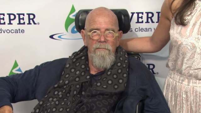 chuck close and eve xanthopoulos at riverkeeper's 50th anniversary fishermen's ball at pier sixty at chelsea piers on may 18, 2016 in new york city. - chelsea piers stock videos & royalty-free footage