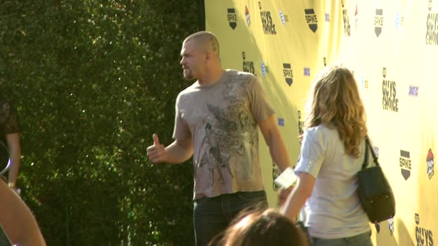 chuck liddell at the spike tv's guys' choice awards at radford studios in los angeles california on june 10 2007 - spike guys choice awards video stock e b–roll