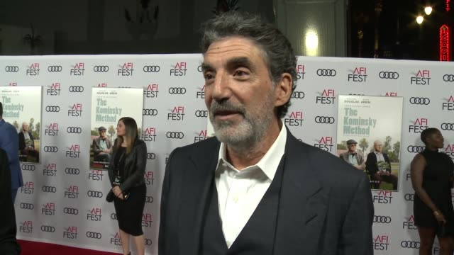 INTERVIEW Chuck Lorre at A Netflix Original Series The Kominsky Method Los Angeles Premiere At AFI Fest at TCL Chinese Theatre on November 10 2018 in...