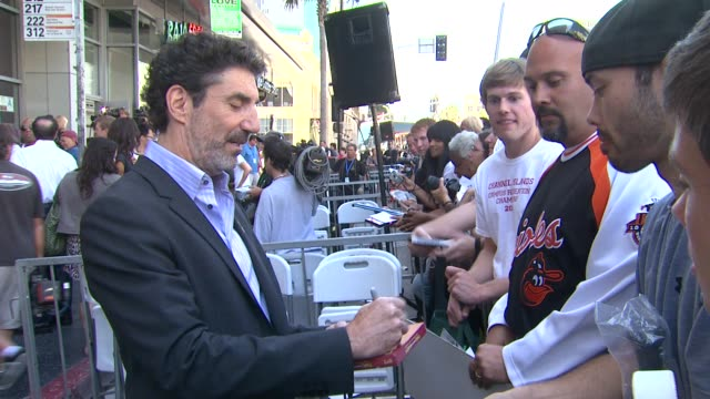 chuck lorre at the jon cryer honored with star on the hollywood walk of fame at hollywood ca - jon cryer video video stock e b–roll