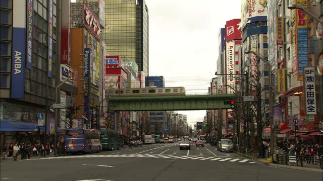 Chuo-dori (Chuo Street) intersection in Akihabara