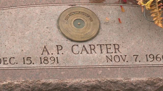 Church and cemetery in Appalachia offer connection to one of the first families of country music AP Carter helped build the church where he is now...