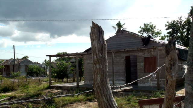 Church building destroyed by hurricane