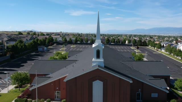 church building - mormonism stock videos & royalty-free footage