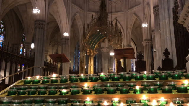 church candlelight - catholicism stock videos & royalty-free footage