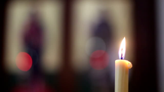 church candles - votive candle stock videos and b-roll footage