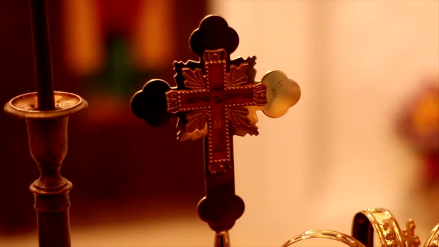 教会クロス - プロテスタント点の映像素材/bロール