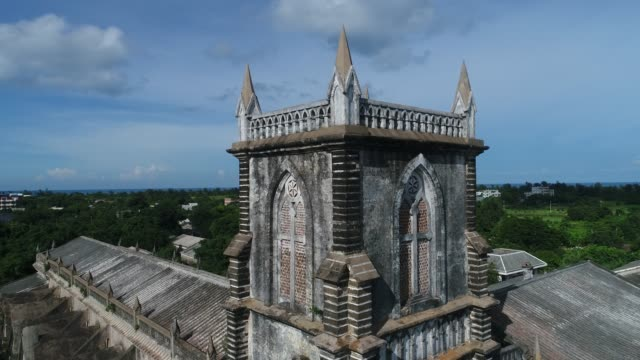 kirche in guangxi,china - religion stock-videos und b-roll-filmmaterial
