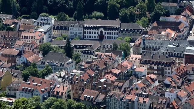 church in heidelberg germany. - neckar river stock videos & royalty-free footage