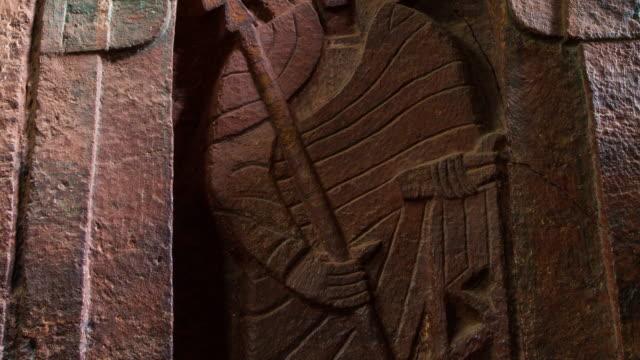 church in lalibela - 世界遺産点の映像素材/bロール
