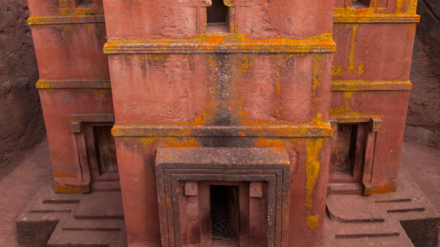 church in lalibela - ethiopia stock videos and b-roll footage